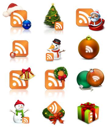 C'est Noël, changez vos icônes RSS