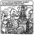 Quand les dinosaures publicitaires régnaient sur la com'