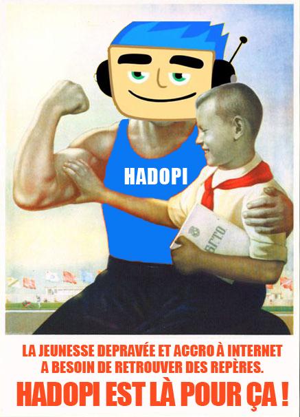 Super Crapule versus Hadopi